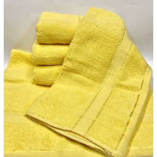 Банные полотенца Желтый цвет