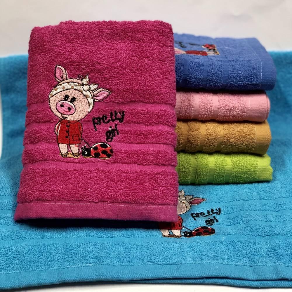 Метровые полотенца Свинка Girl