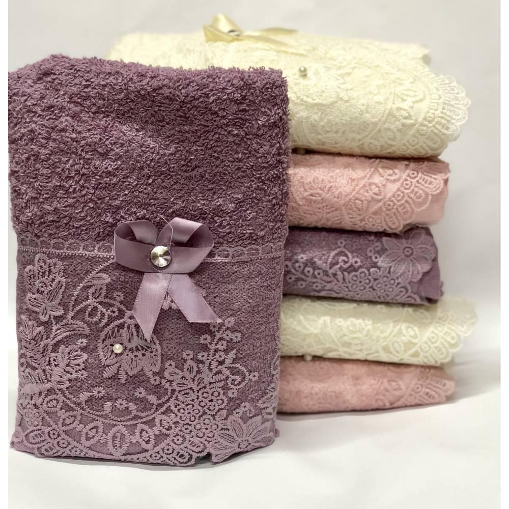 Метровые полотенца Ажур - Бантик