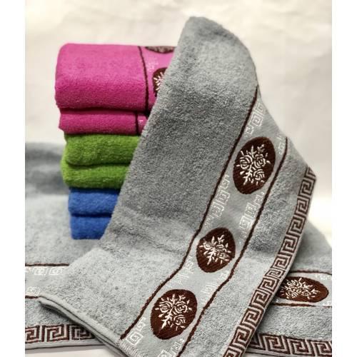 Метровые полотенца Роза в Круге