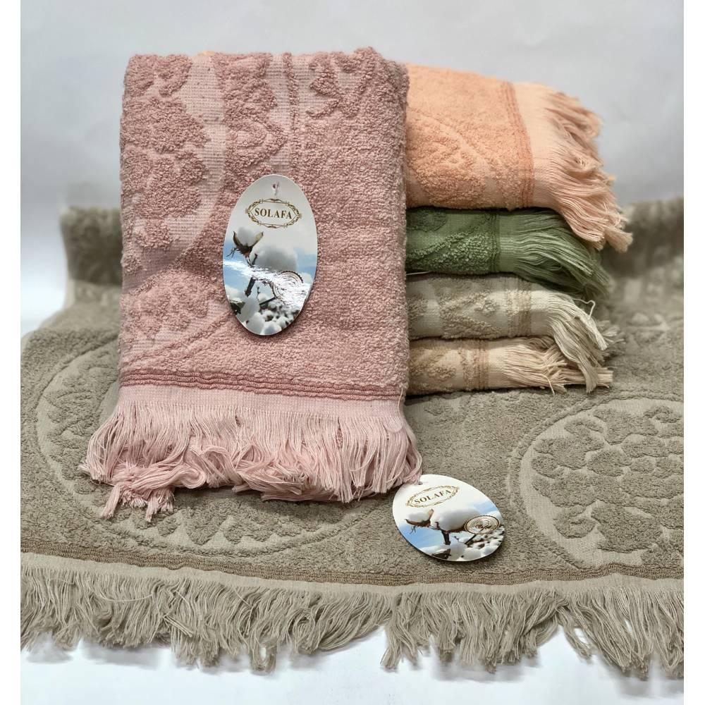Метровые полотенца SOLAFA Бахрома