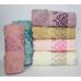 Банные турецкие полотенца Вензель - Бахрома
