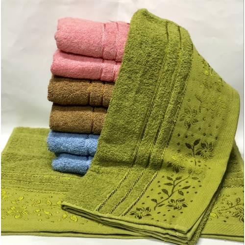 Метровые полотенца Цветочки 8ка