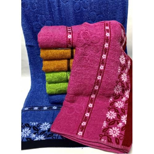 Банные полотенца Ромашка Solafa