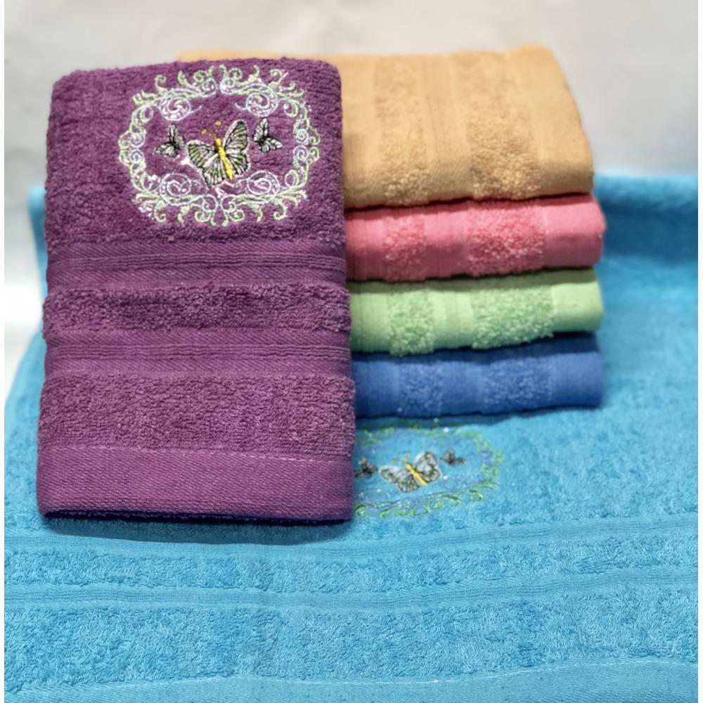 Метровые полотенца Бабочка - Узор