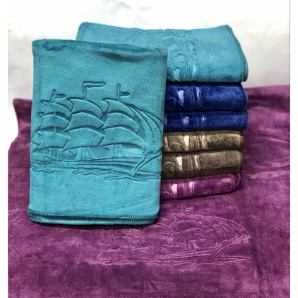 Метровые полотенца Кораблик микрофибра