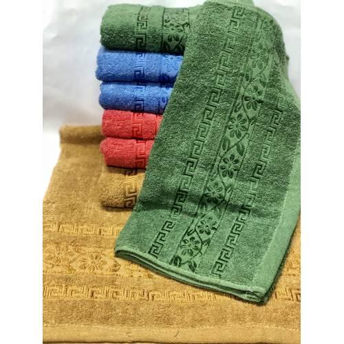 Банные полотенца Цветочки - Версаче