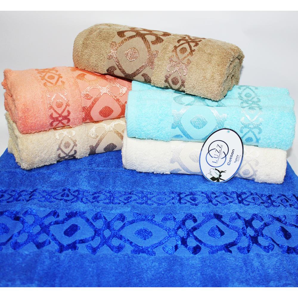 Банные турецкие полотенца LUZZ Вензель