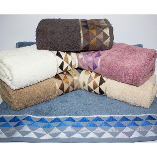 Банные турецкие полотенца Ромбики