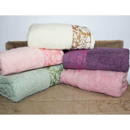 Метровые турецкие полотенца Febo Цветок