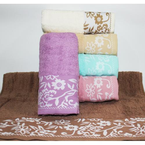 Метровые турецкие полотенца Febo Незабутки