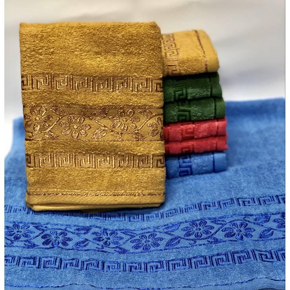 Метровые полотенца Версаче - Цветок