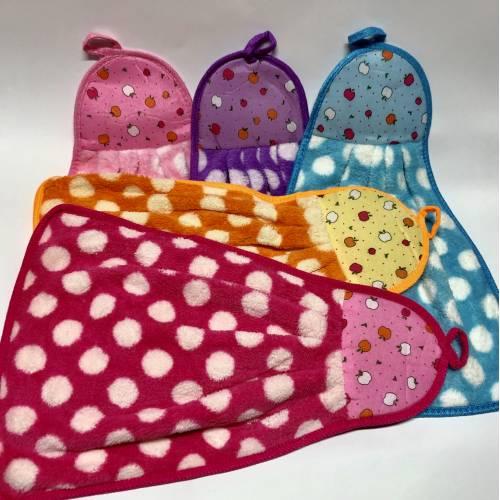 Кухонные полотенца Горошек