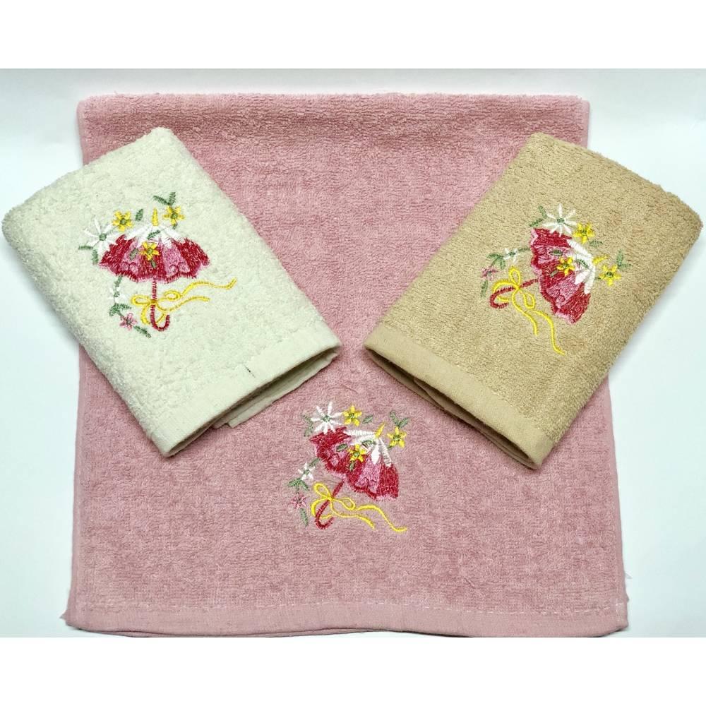 Кухонные полотенца Цветы - Зонтик