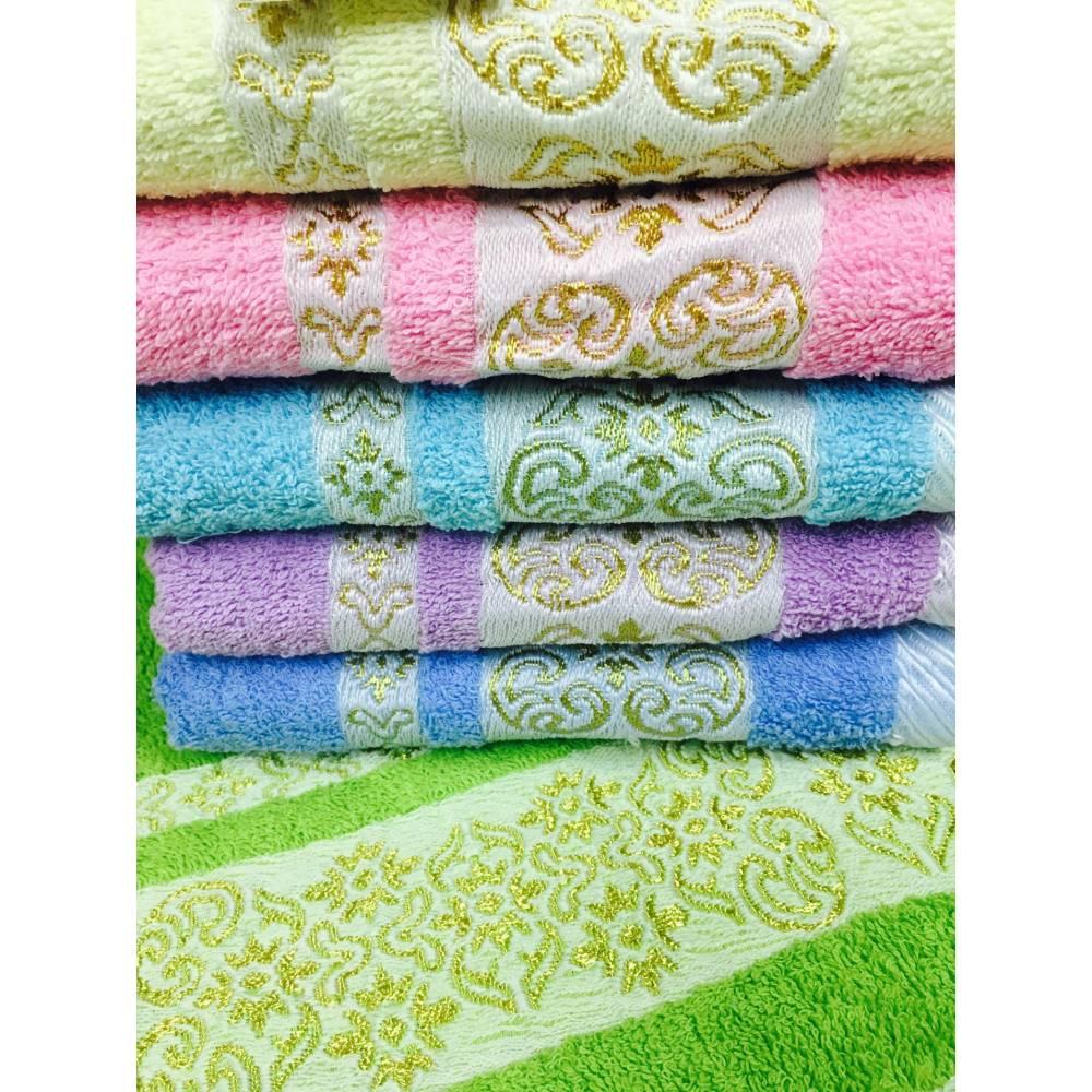 Метровые полотенца Золотой кант