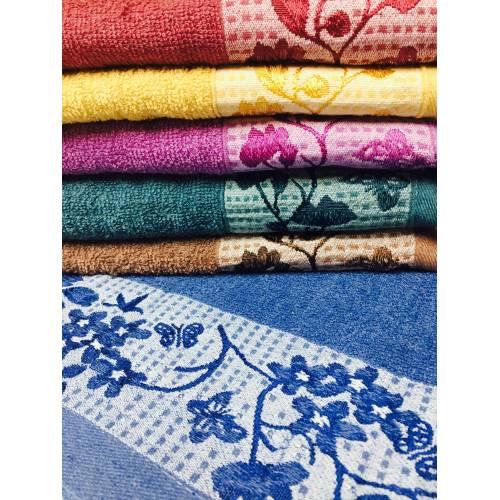 Метровые полотенца Сакура кант