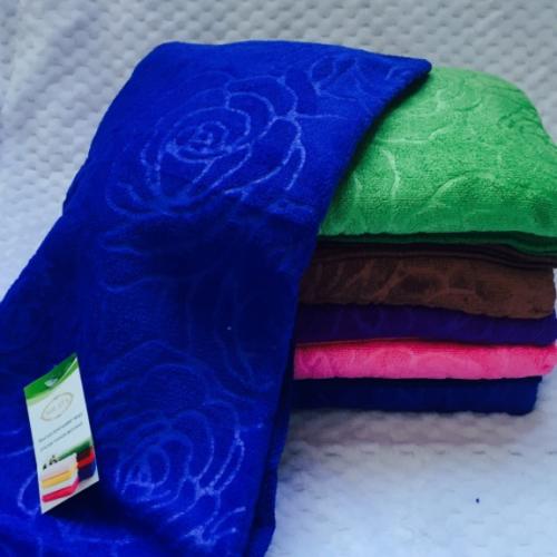 Банные полотенца Темная Розочка