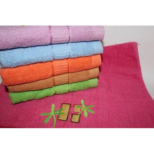 Банные полотенца Листики Кленовые
