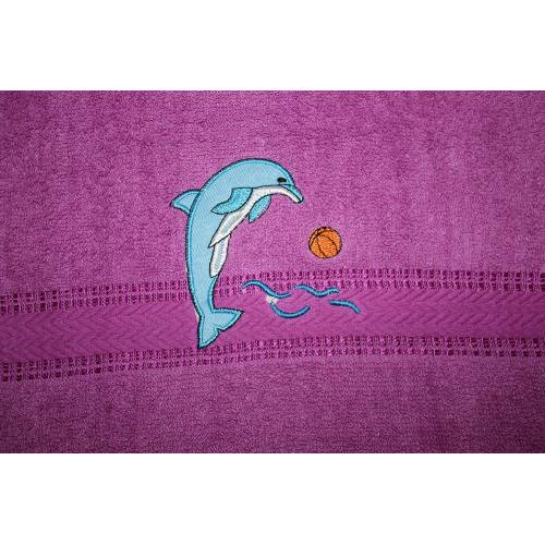 Метровые полотенца Дельфин