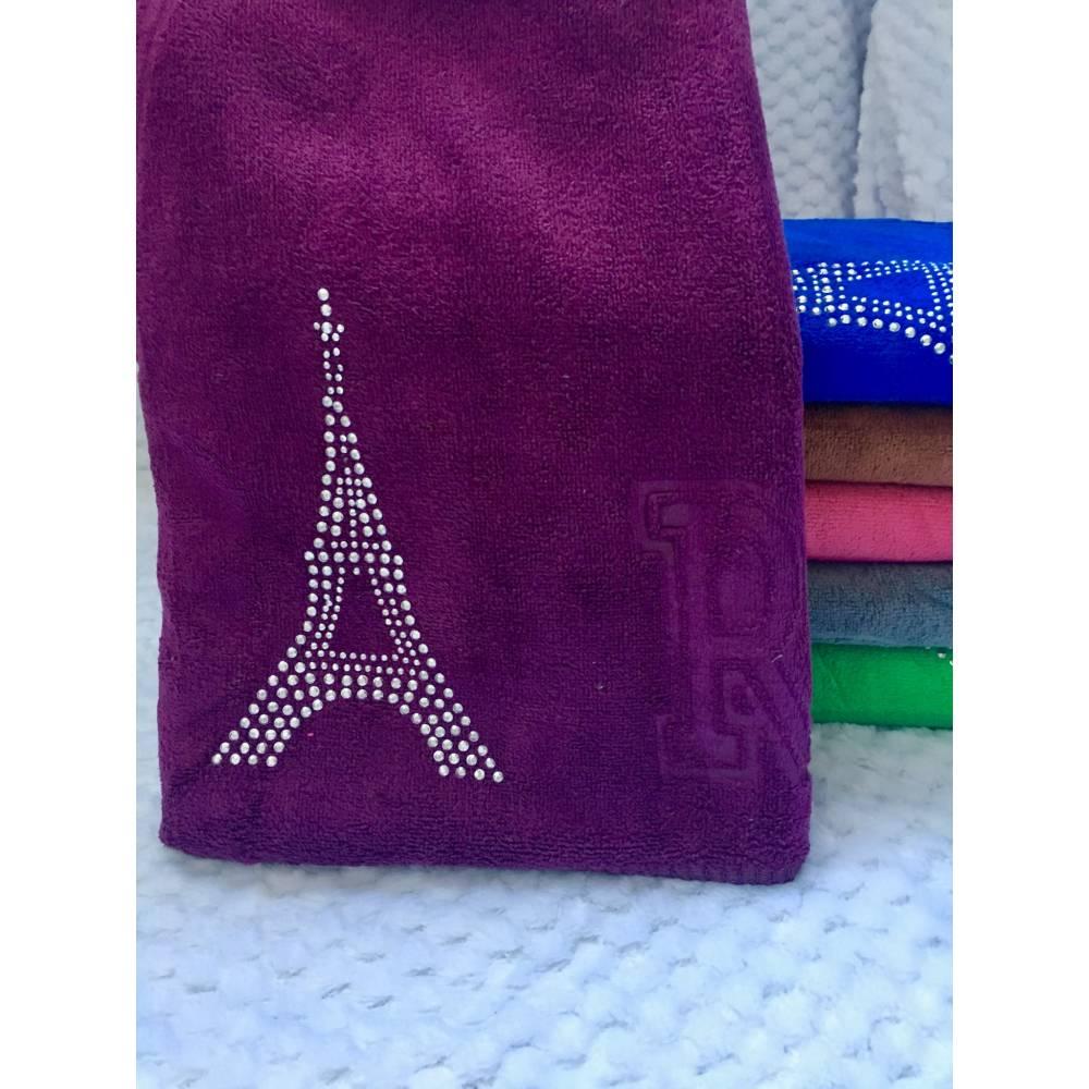 Метровые полотенца Париж