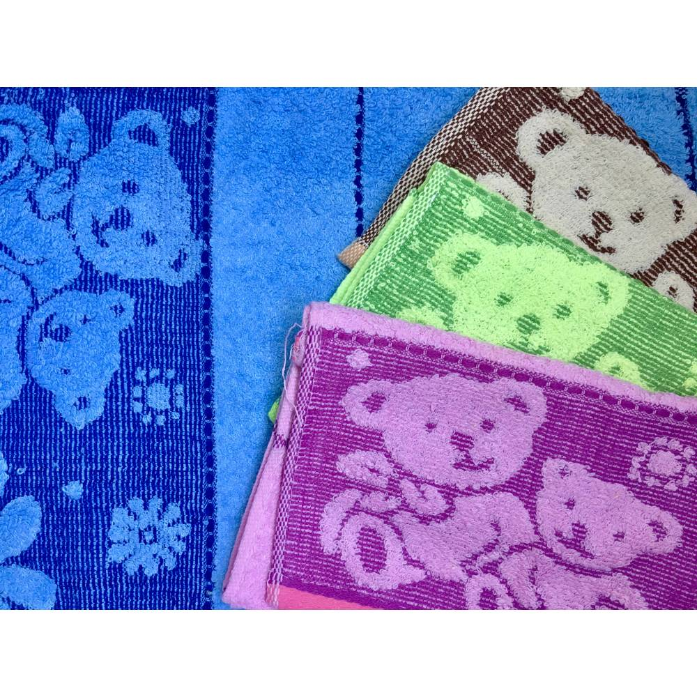 Полотенца Для рук Мишка - Ромашка