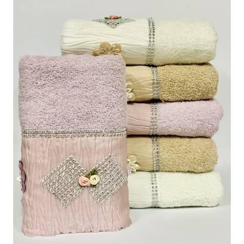 Банные полотенца Стразы