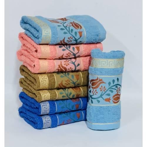 Банные полотенца Три тюльпана