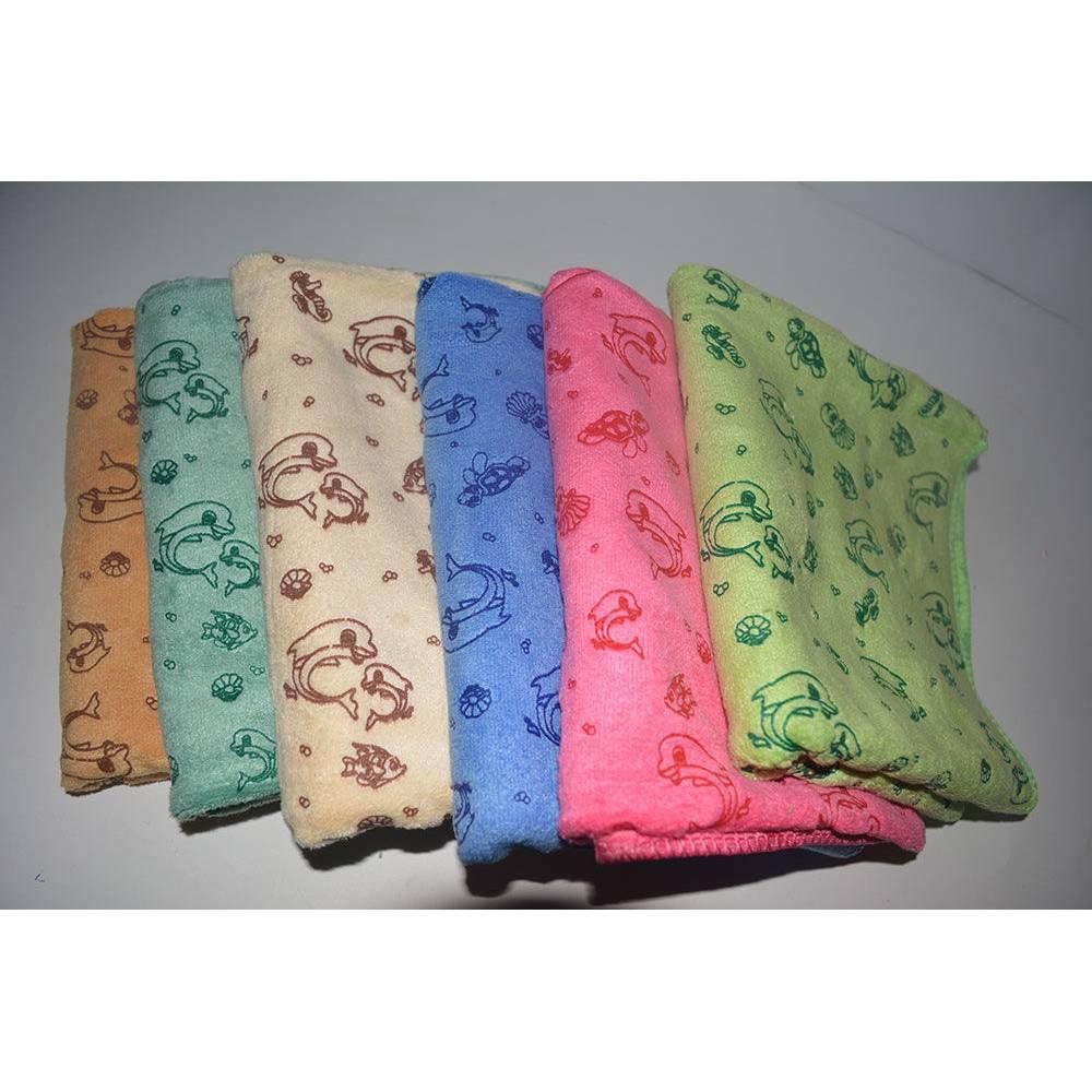 Кухонные полотенца Дельфины