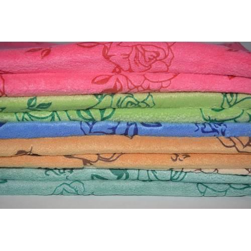 Полотенца для рук Розочки микрофибра
