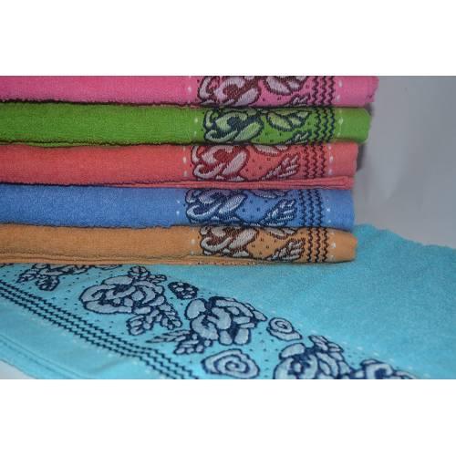 Метровые полотенца Ажурный цветок