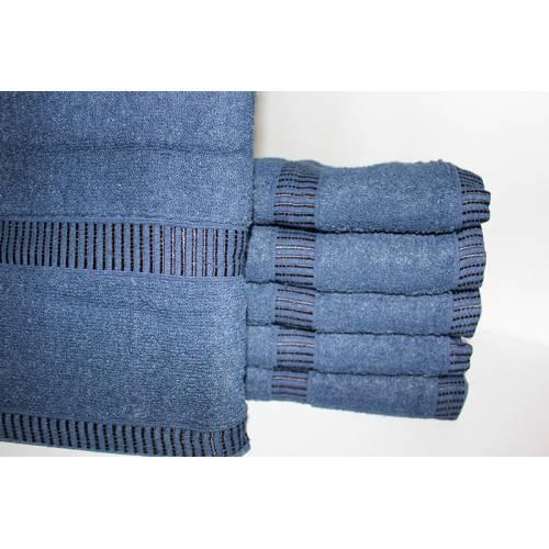 Банные полотенца Синий цвет