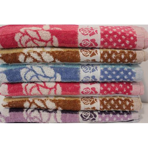 Метровые полотенца Роза.
