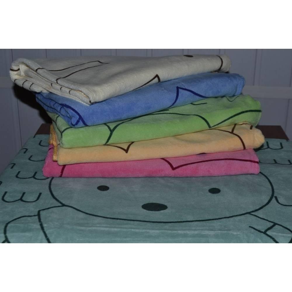Метровые полотенца Микрофибра Зайчик