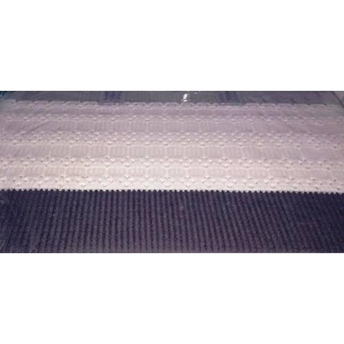 Комплект постельного белья с вязаным покрывалом