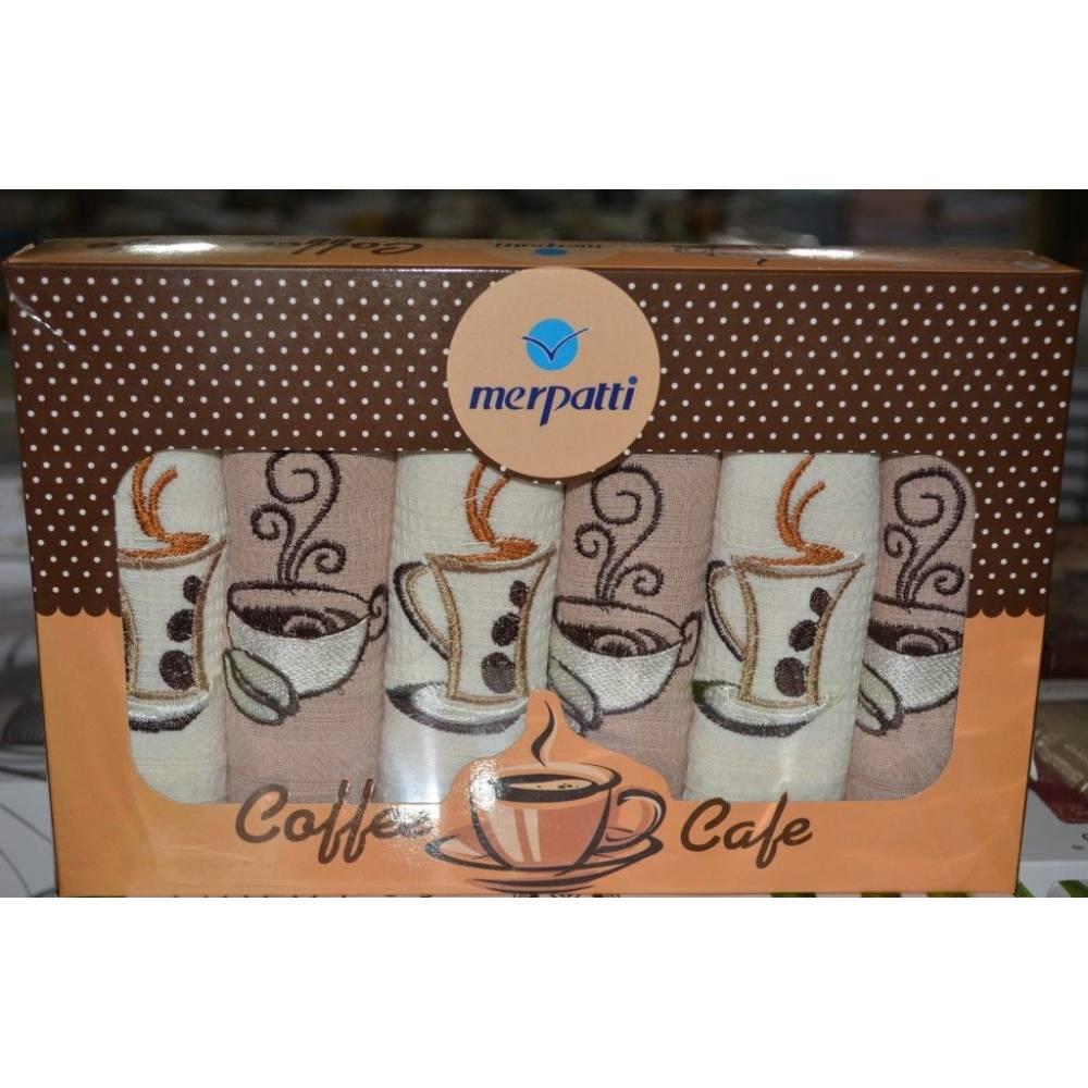 Набор вафельных полотенец Coffe Cafe
